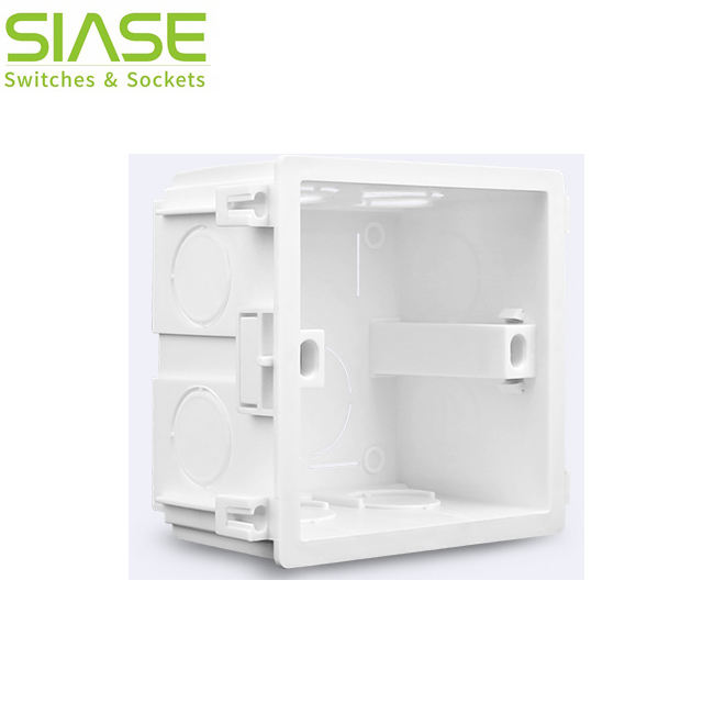 Wall 86 86 Switch Housing for Electric Electrical PVC Plastic Junction Box