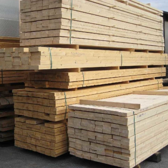 Spruce Sawn Timber And Pallet Elements for export