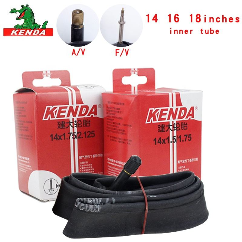 Kenda inner tube 14 16 inches18 * 1.25 1.5 1.75 2.125 cycling mountain bike tube tires butyl rubber