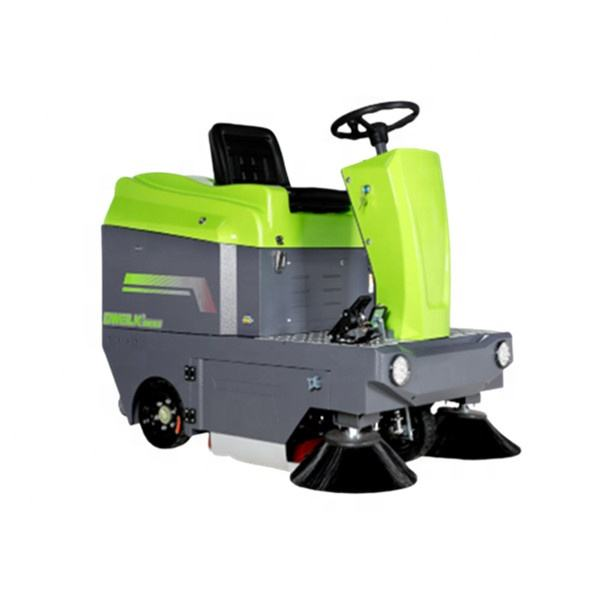 DW1250 High efficiency street dust cleaning road riding driving floor sweeper