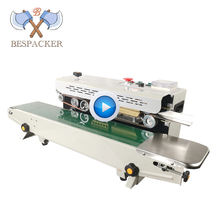 Automatic continuous band sealer sealing machine new design plastic film manual heat sealer