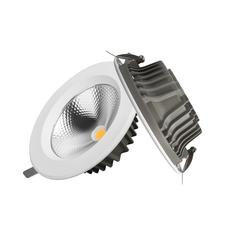 VACE Space-saving Aluminum 7w 10w 20w 30w 40w COB Office Ceiling Led Downlight