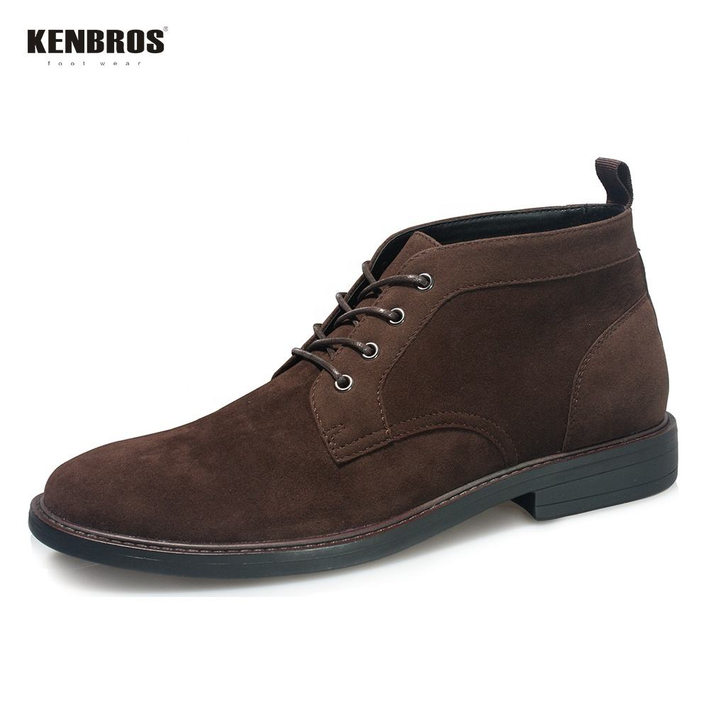 Men's Faux Leather Chukka boot