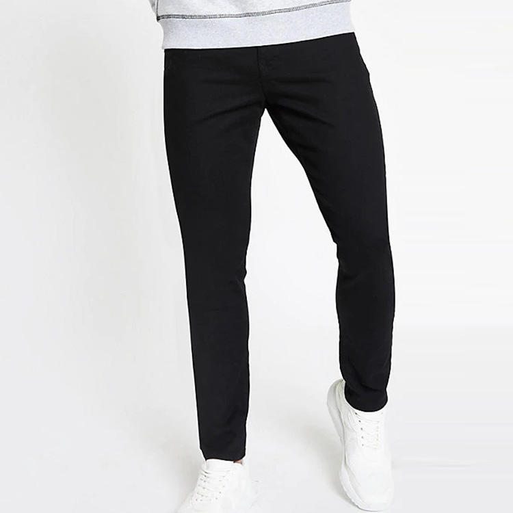 OEM Custom Mens Rekbaar Skinny Jeans Slim Fit Denim Broek
