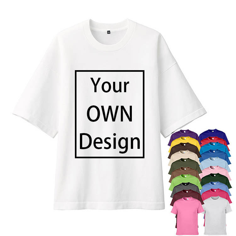 High Quality low price Custom 100% Cotton digital print T Shirts Oversize White Tshirt plain Sublimation polyester T-Shirt