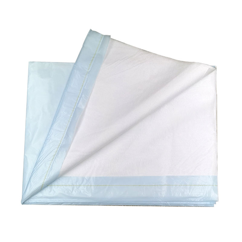 Disposable absorbent adult incontinence nonwoven underpad 60x90