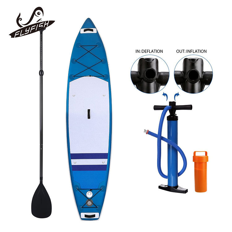 Big double layer paddle surf board sup inflatable stand up