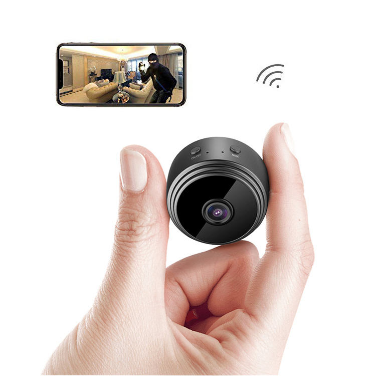 Strong Security Surveillance Spy Camera with Audio and Video