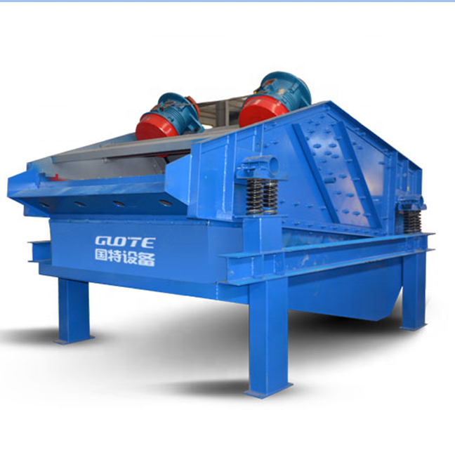 high frequency mining linear sand dewatering vibrating screen machine price
