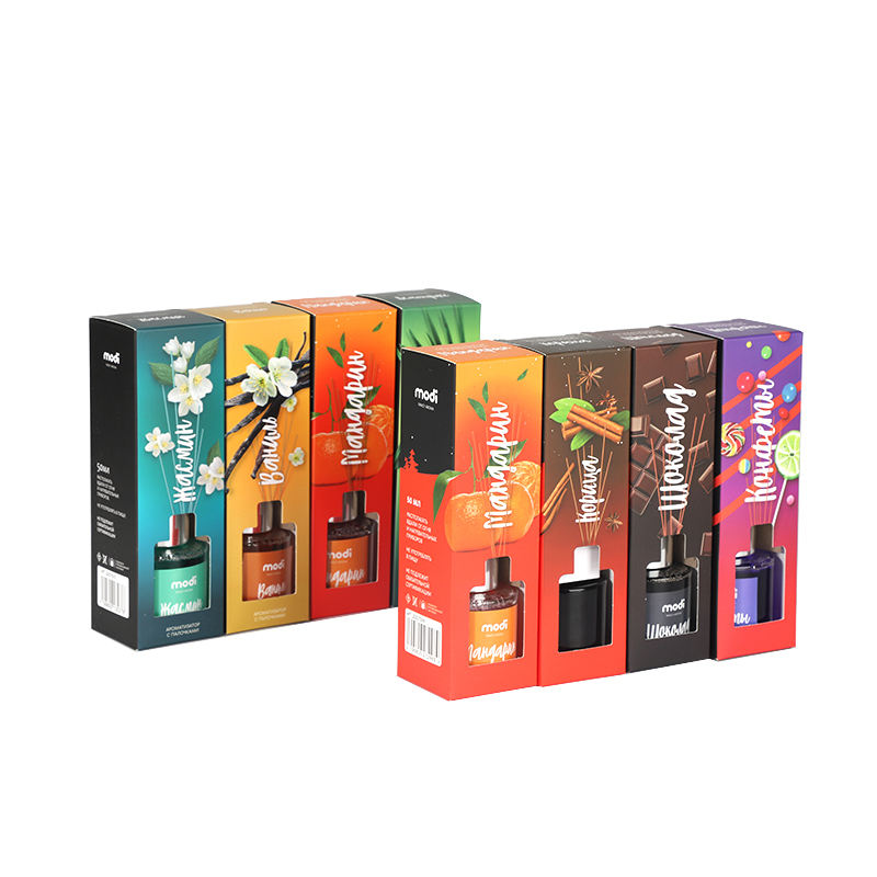 Promotion air freshener multi fragrance refill oil luxury reed diffuser set for home