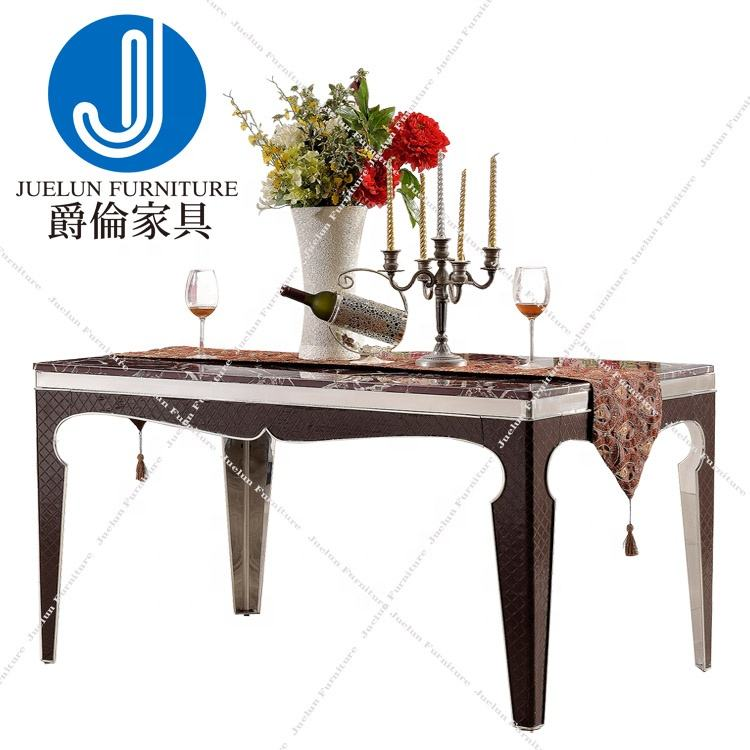 Chinese factory table compact table walnut dinning table