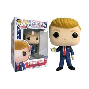 Funk pop Donald Trump PVC action figures Trump modello giocattolo