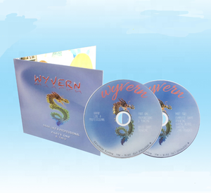 Pre-recorded disc music educational audio cd movie training promotional dvd