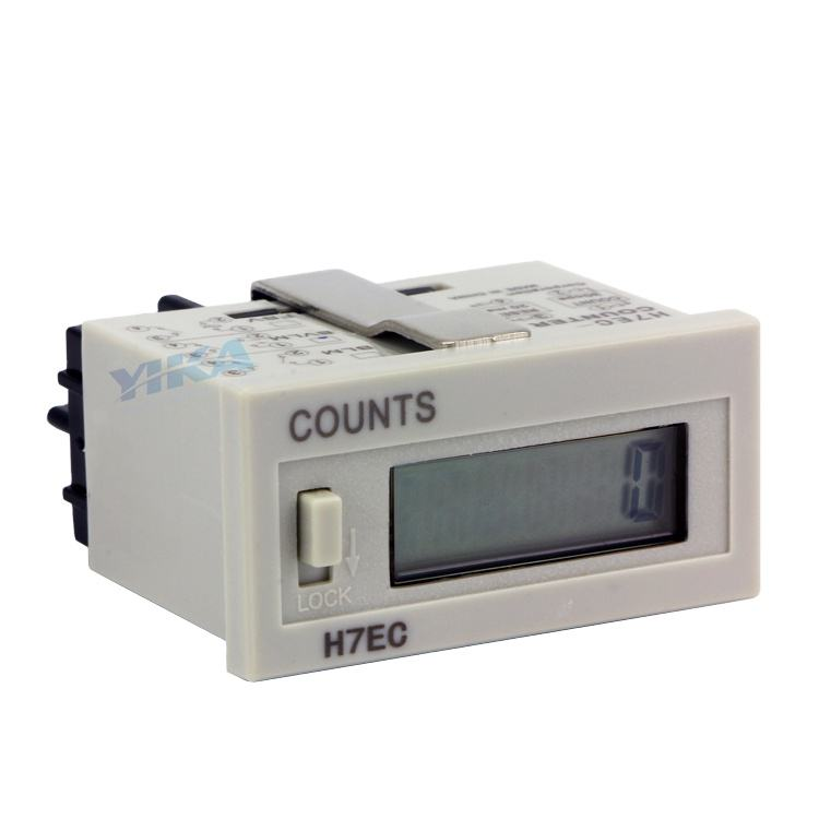 H7EC 0-999999 Counting Range No-Voltage Required Digital Counter