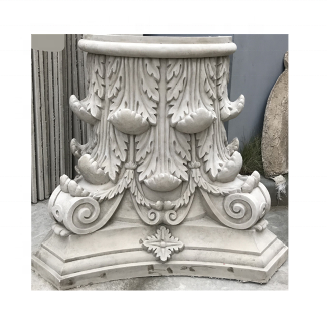 Silicone Rubber Moulds For GRC Precast Concrete Corinthian Roman Column Capital