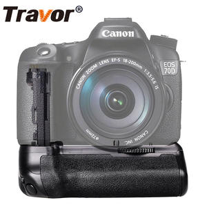 Travor Professional Camera Accessories DSLR Power Vertical Holder Battery Grip For Canon Eos 70D 80D Replacement BG-E14