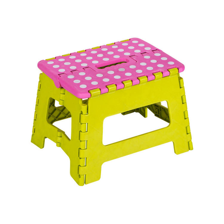 Portable Plastic Folding 13 Inch high PP Material outdoor children kids seat foldable small fishing foot Step Stool
