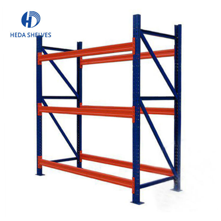 China manufacturer Steel structure sheet metal pipe storage rack