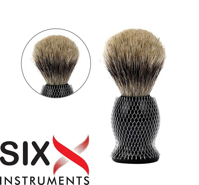 Premium Black Wood Handle Badger Hair Shaving Brush for Men Beard Shaving Brush Wooden Bristles