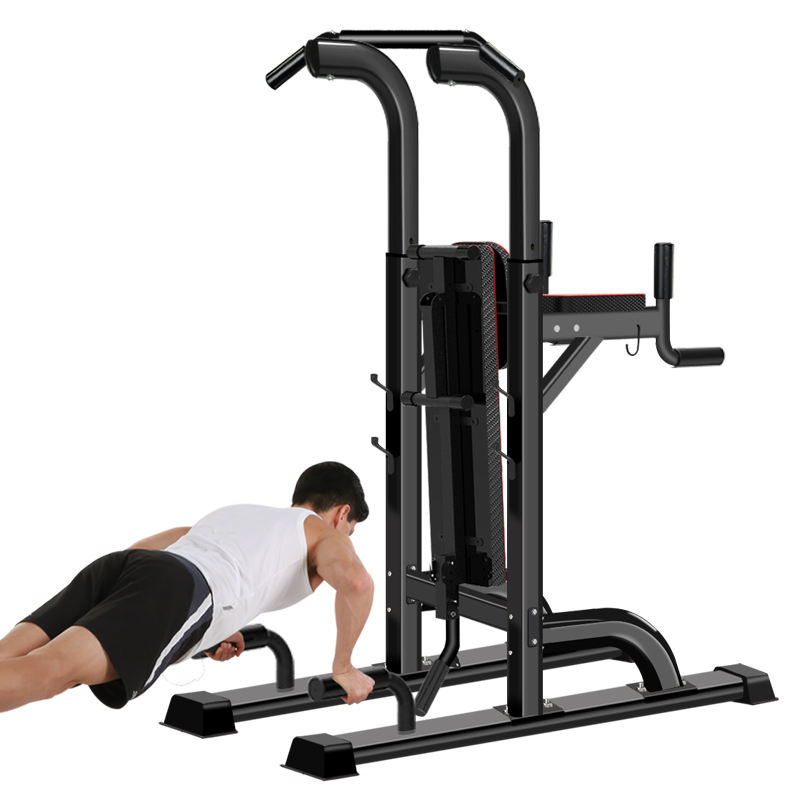 Power Tower dengan Sit-Up Bench Station Latihan Angkat <span class=keywords><strong>Berat</strong></span> Mesin