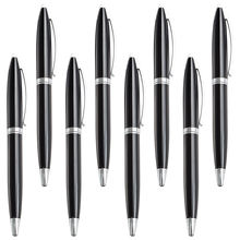 Hight quality free simple business metal ballpoint pen promotion custom logo parker ball pens