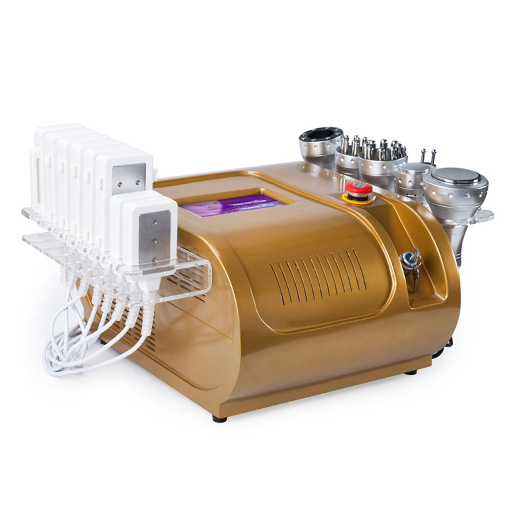 Most popular Ultrasonic Cavitation+ rf vacuum slimming machine
