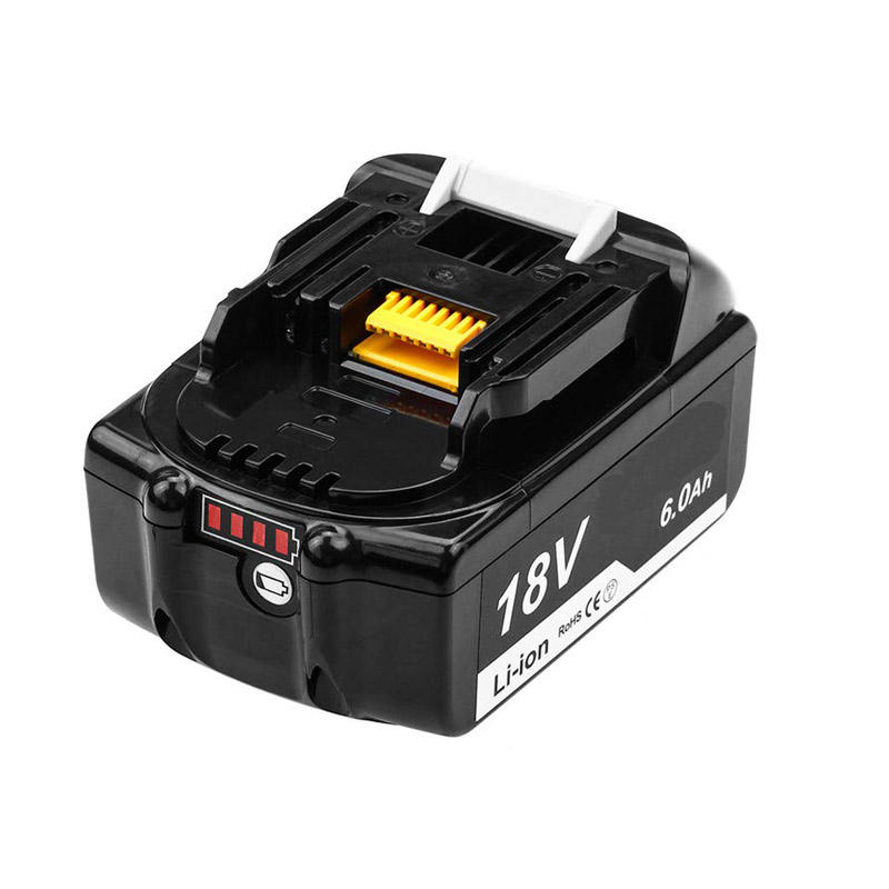 18V 6A Replacement 100% Orginal Makita Akku Wholesale Lithium-Ion Batteries BL1860 Rechargeable Power Tool Battery Pack