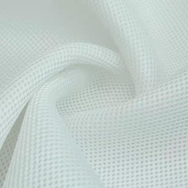 high quality 100 percent polyester for bedding mattress 3d spacer air mesh lining fabric