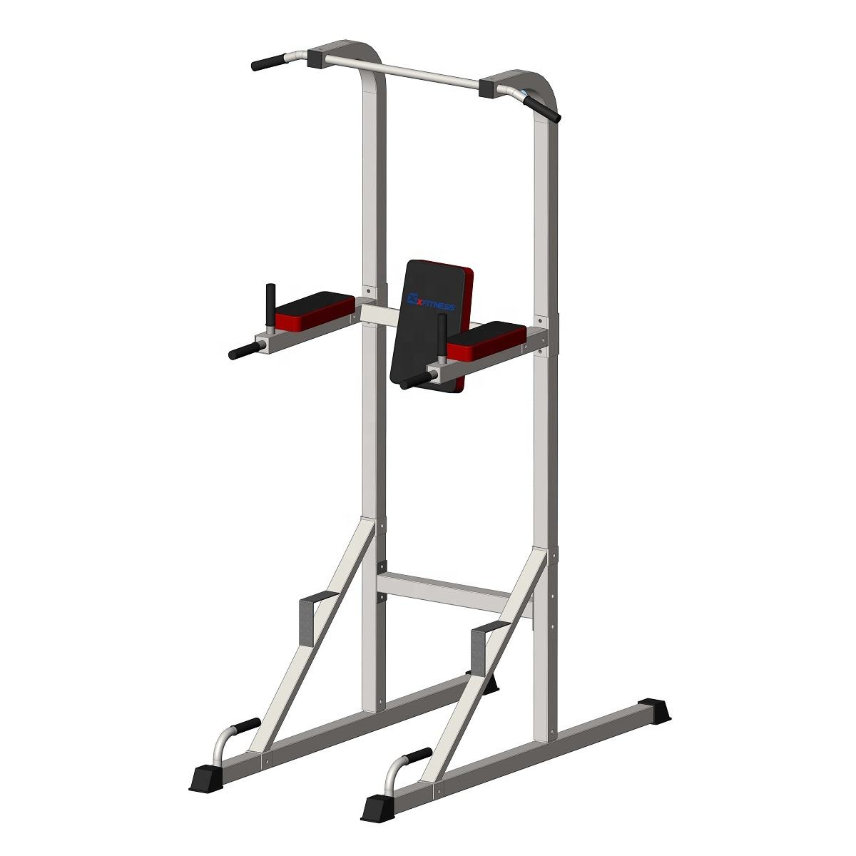 2020 Goedkope Multi Functie Multi Station Voor Custom Logo Home Office Gym Apparatuur Chin Up En Dip Station Power Tower