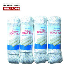 (JINLI ROPE) high strength nylon braided yacht rope for mainsheet