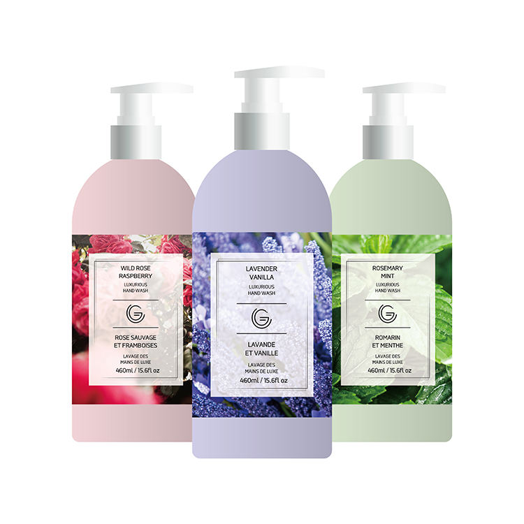 Organic fresh liquid hand soap private label 500ml natural rose moisturizing hand soap