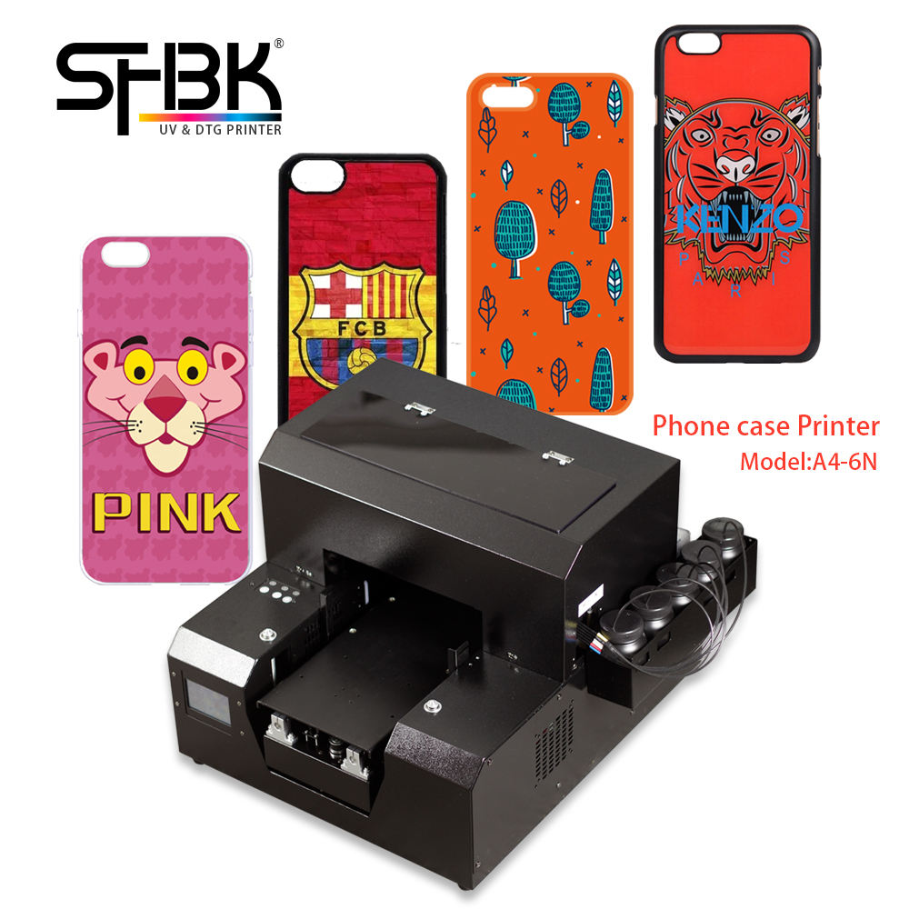 Mobile phone shell printer Personalized customized small A4 UV printer for printing products