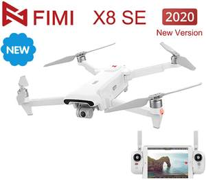 FIMI X8 SE 2020 Version GPS RC Drone with Camera Brushless Motor Drone 4K 3-axis Gimbal 8KM 35mins Flight Time RC Quadcopter