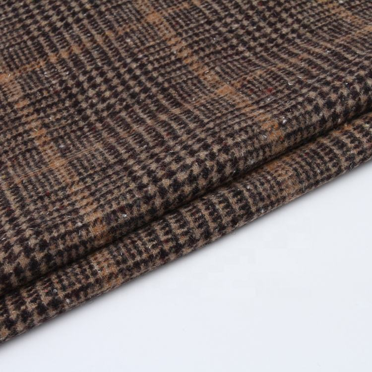 Warm soft textiles woven mens suit fabrics meter wool woman wool fabric plain