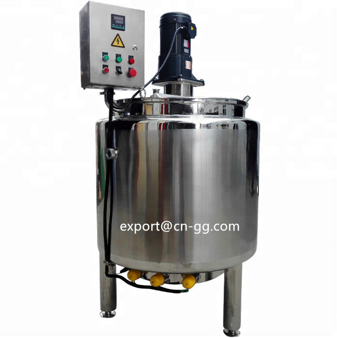 500 liter stainless steel slurry mixing tank