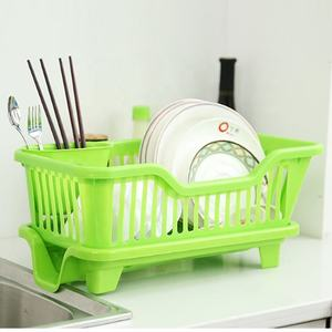 Plastic Kitchen Portable Rack Cutlery Drainer