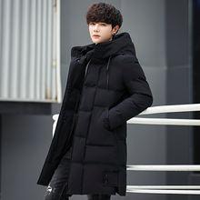 long parkas winter jacket men hooded warm Windproof Coat