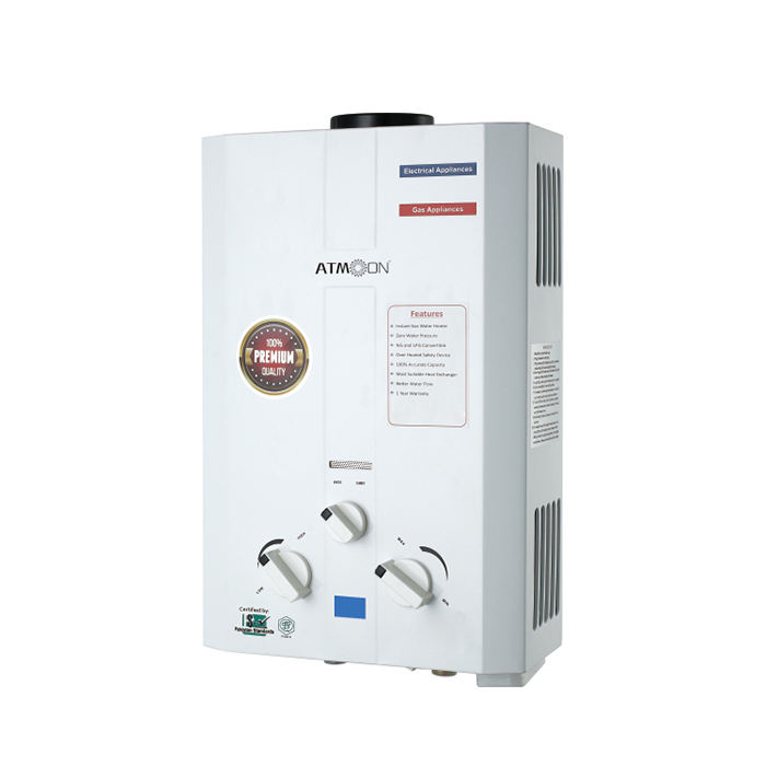 Best quality 6 liter gas hot water heater/Instant water Geyser