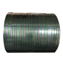 galvanized metal binding strip strapping band steel packing tape