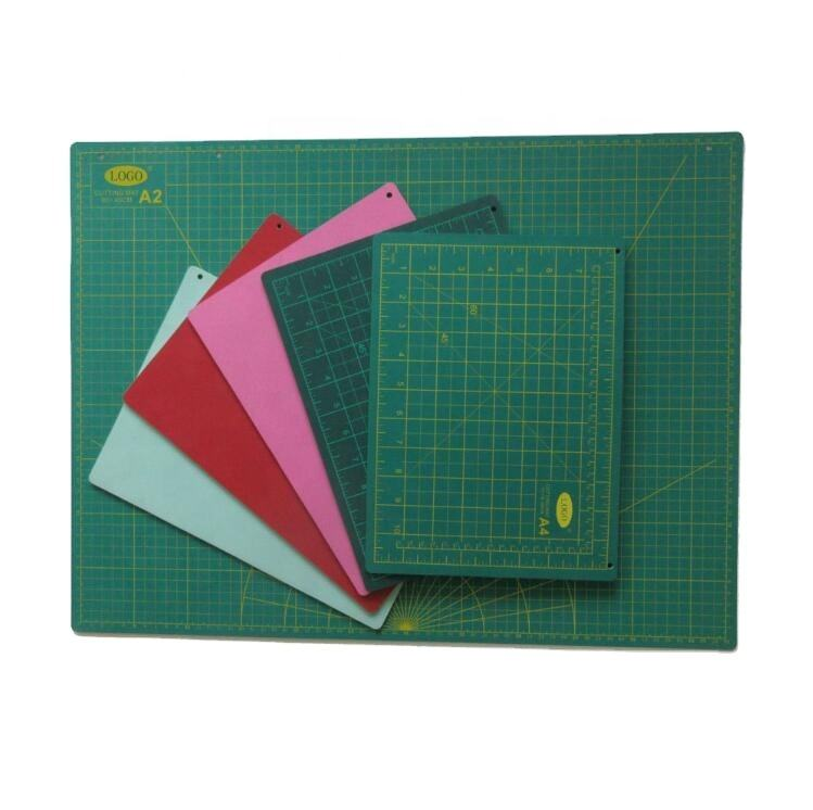 A0 A1 A2 A3 A4 3 layersplastic PVC self healing anti slip security cutting mat