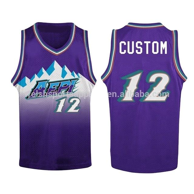 Wholesale Discount custom design your own basketball jersey sublimation sports jersey basketball