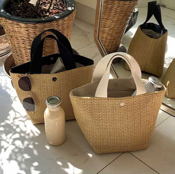 2020 new straw beach bags fashion women beach bag summer straw bag