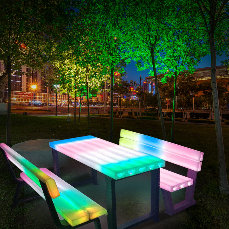2020 New product hot selling Waterproof Ip67 16colors LED Garden Chair for Outdoor