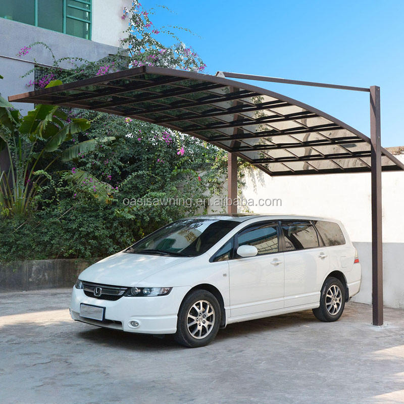 Small size pergola carport car shelter shed
