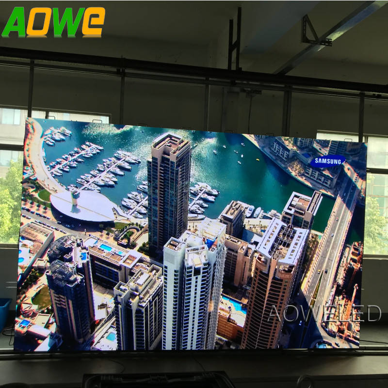 UHD Indoor P2 LED Screen with high refresh rate 3,840Hz
