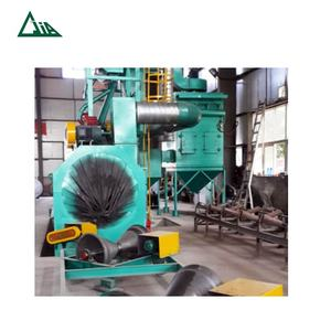 Pipe Shot Blasting Machines Internal External Pipe Shot Blasting Machine China Manufacturer QGW Steel Pipe Shot Blasting Machines For Internal And External Cleaning