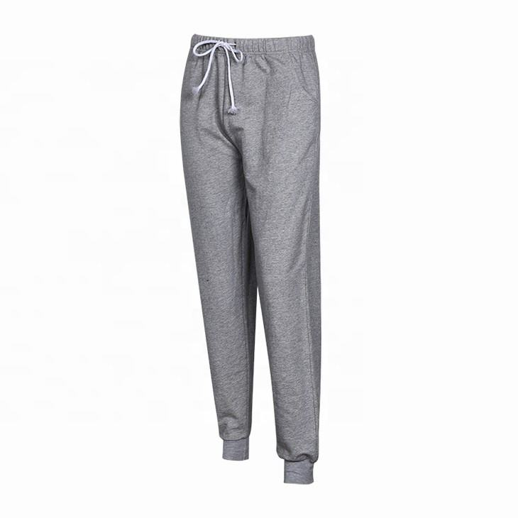 wholesale fenglang brand stylish bulk grey knitted casual sports track men jogger pants