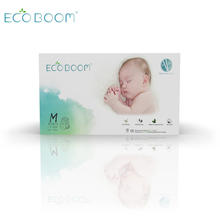 ECO BOOM bamboo biodegradable disposable sleepy M size 80 Count baby diaper pants for outdoor activities