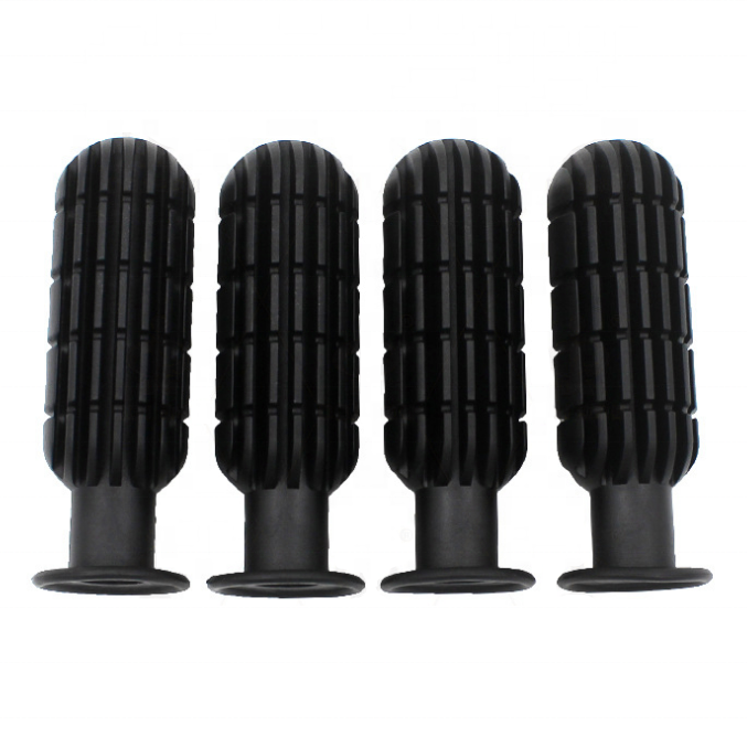 Foosball/Soccer Game Table Accessory: Replacement Hand Grip Handles,Pack of 8, Black