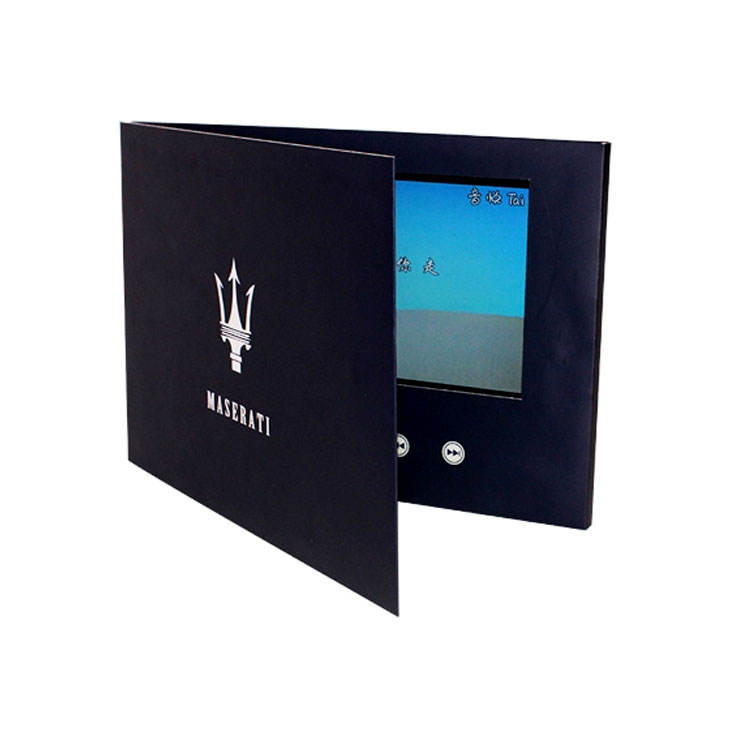 Video Mailer LCD Video Brochure Wedding Invitation Card Christmas Greeting Card Custom